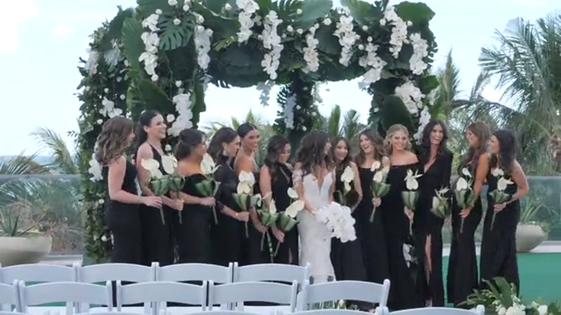 Fabulous wedding of Ilana & Matt at Hotel 1 in Miami Beach