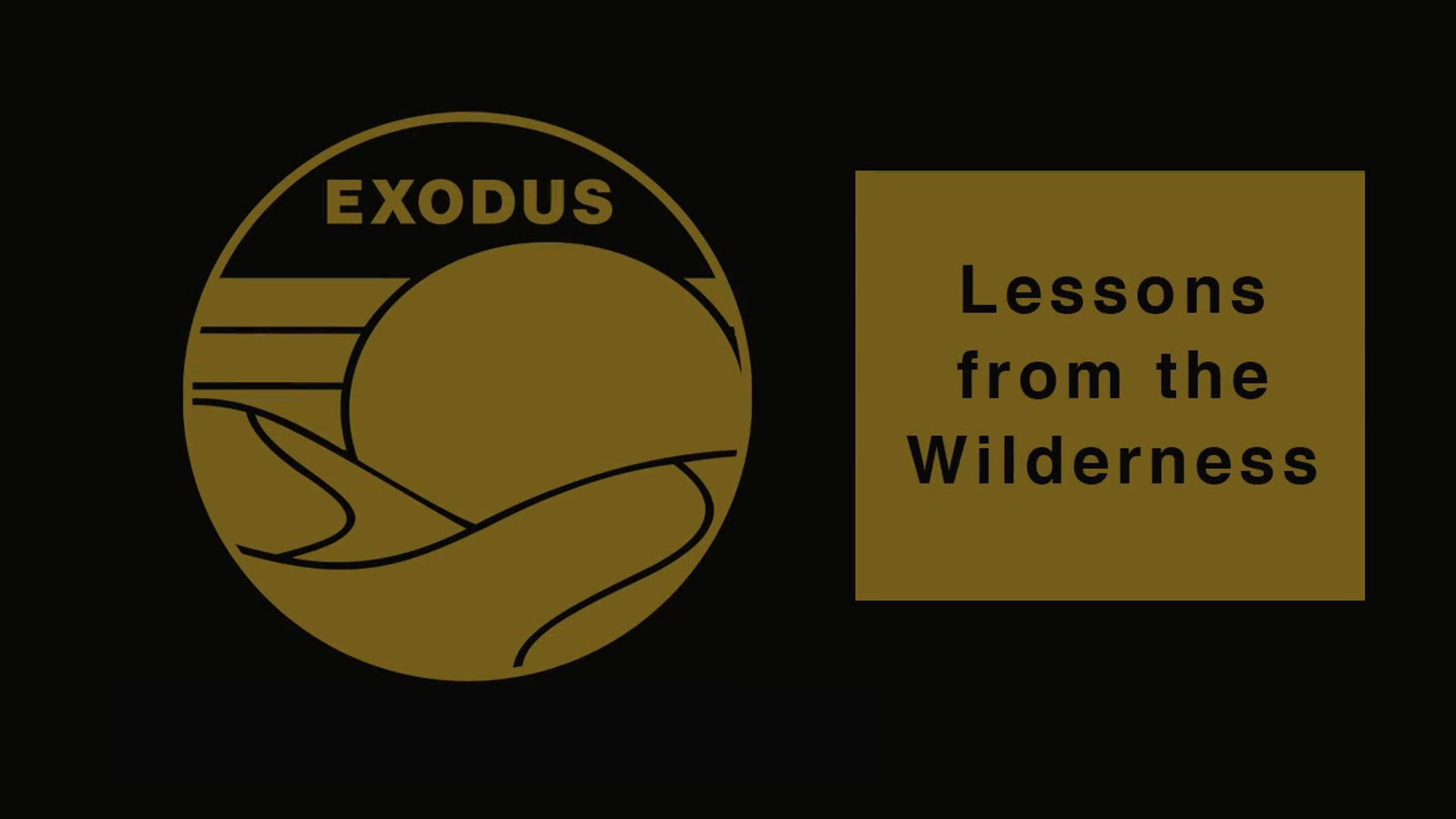 Week 5: Worship God | Exodus 32-34