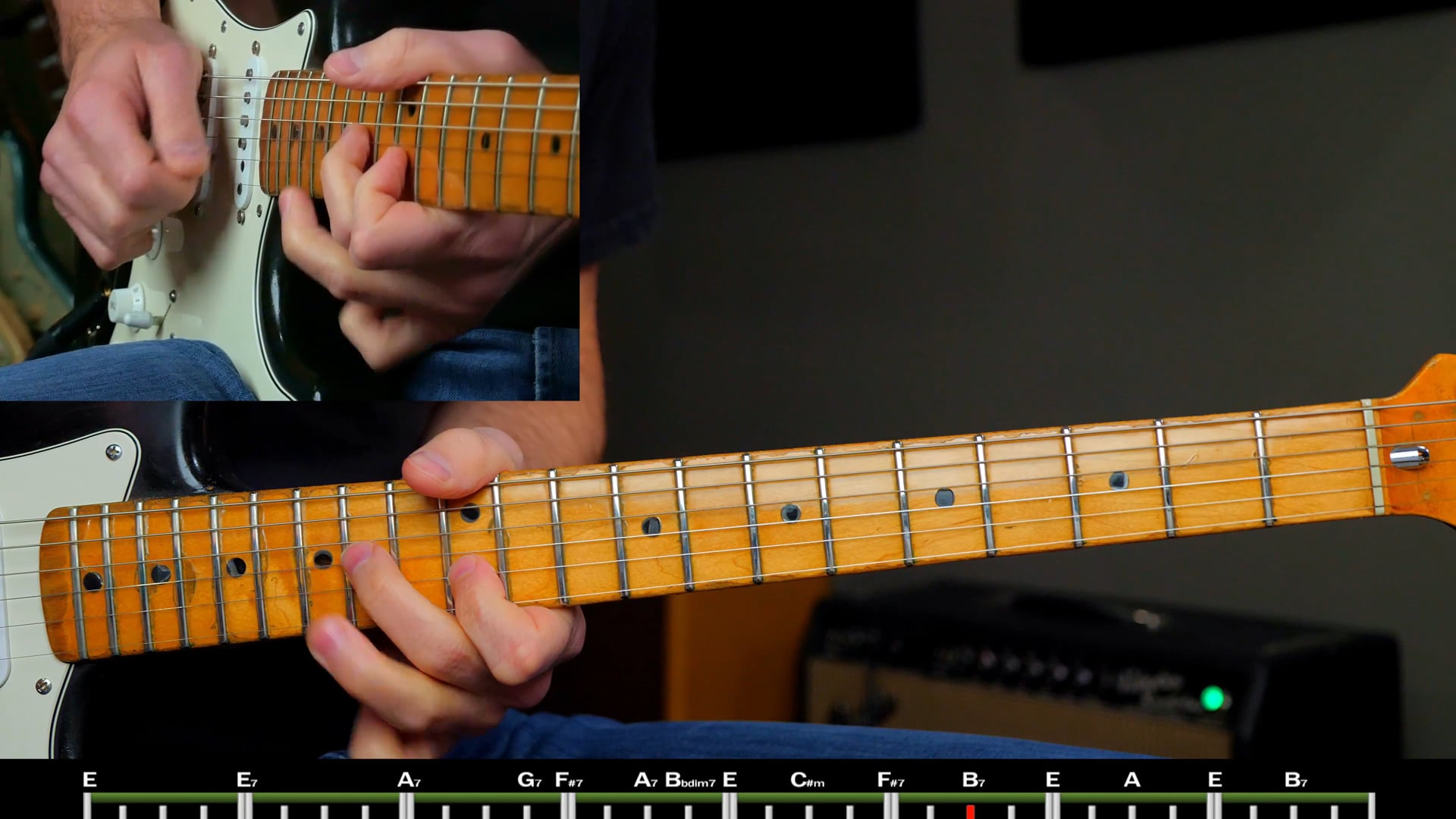 Clapton/Ray Style Solo