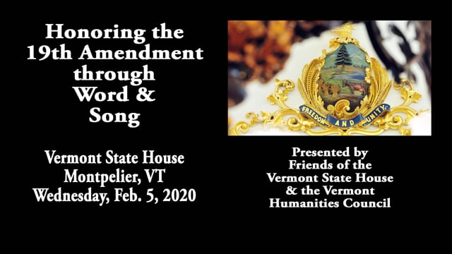 Celebrating the 19th Amendment Through Word and Song
