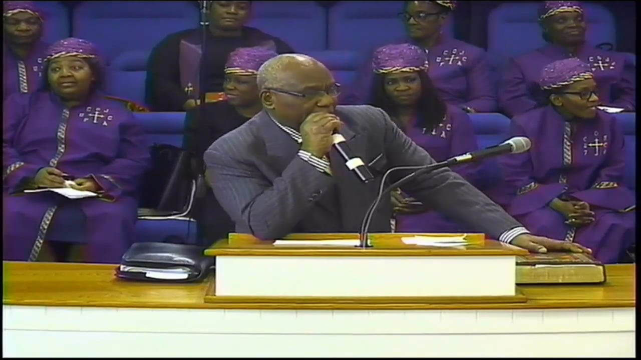 02-01-20, Bishop Leslie Barnes, The Second Adam