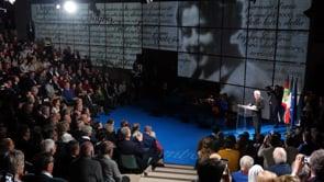 Italien, Trient: Italiens Präsident zum 100. Geburtstag von Chiara on Vimeo