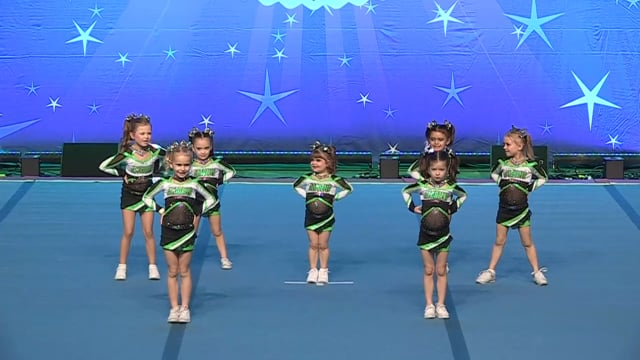 Academy of Cheer Excellence  Rolling Stones - Tiny 1