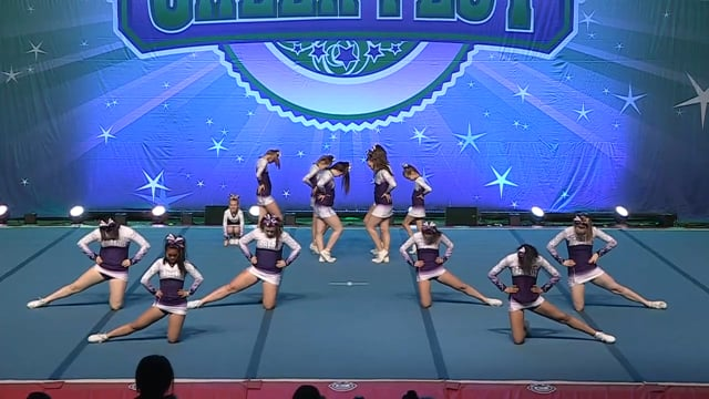 Xtreme Cheer and Dance  Silver Queens - Senior Prep 2
