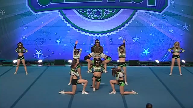 Academy of Cheer Excellence  Quiet Riot - Open (IASF) 4 R1