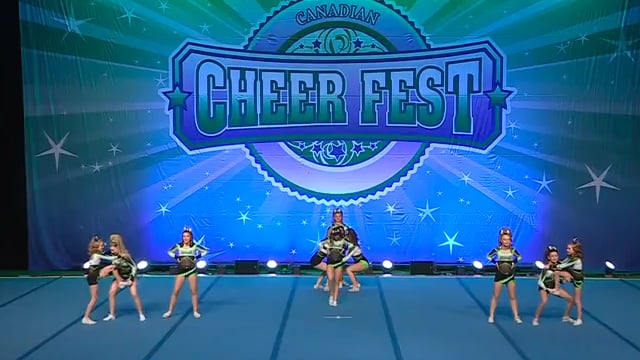 Academy of Cheer Excellence  Cold Play - Junior 4 R1