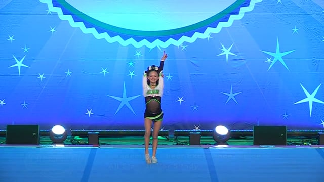 Academy of Cheer Excellence  Chloe - Junior 5 Indy