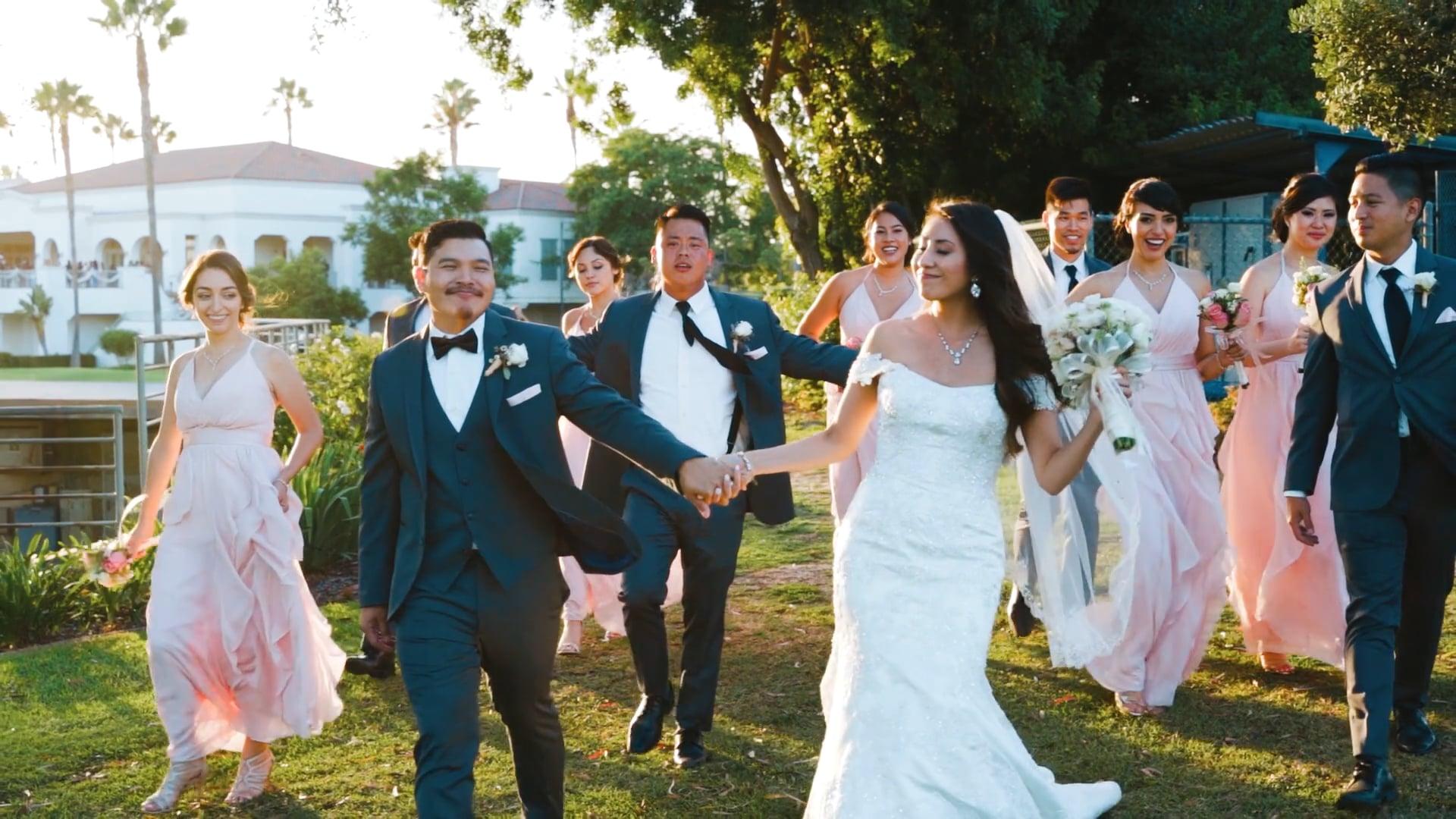 Laura & Andaro | Wedding Highlight | Los Coyotes Country Club Buena Park