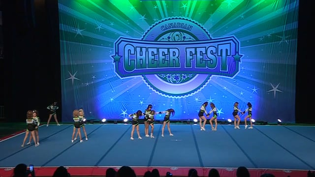 Academy of Cheer Excellence  Blur - Junior 1 R2