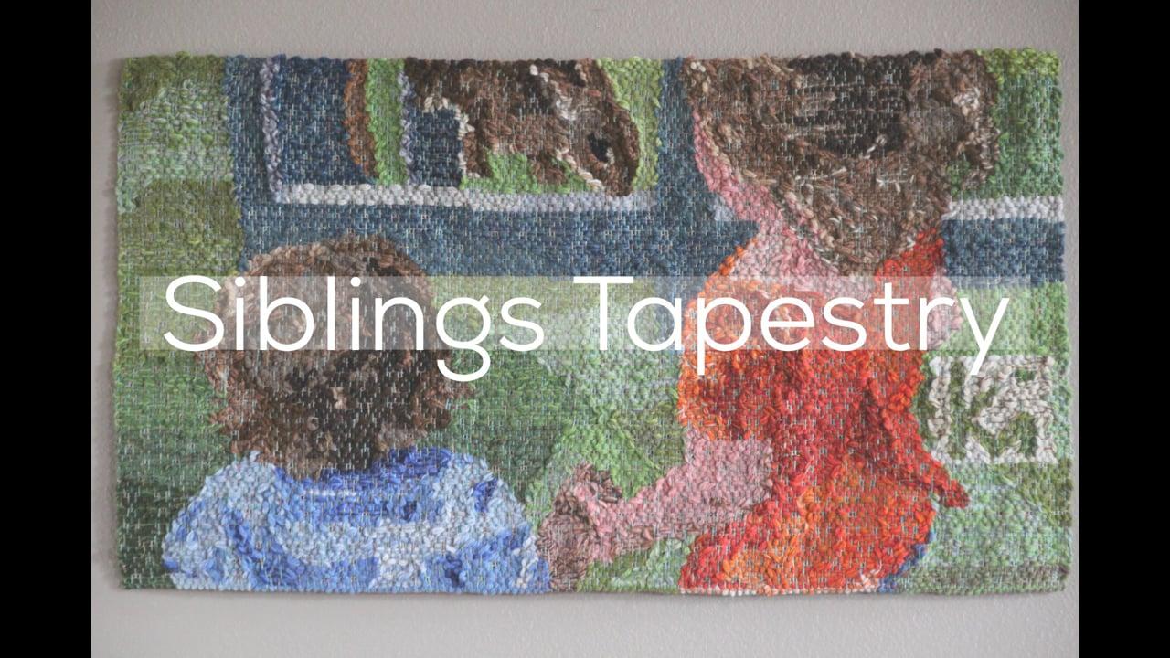 Siblings Tapestry