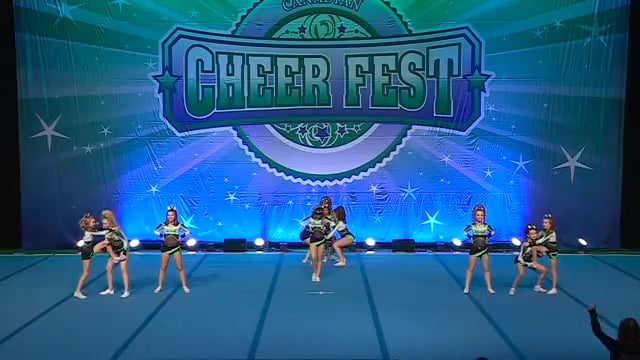 Academy of Cheer Excellence  Cold Play - Junior 4 R2