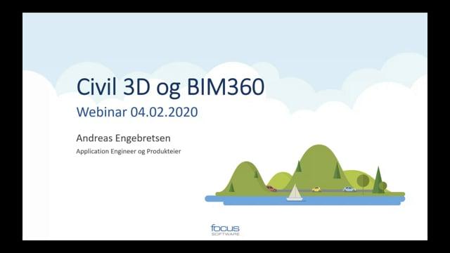 Civil 3D og BIM 360