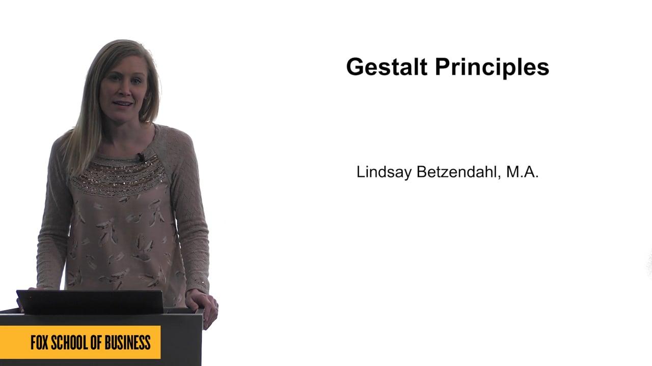 61740Gestalt Principles