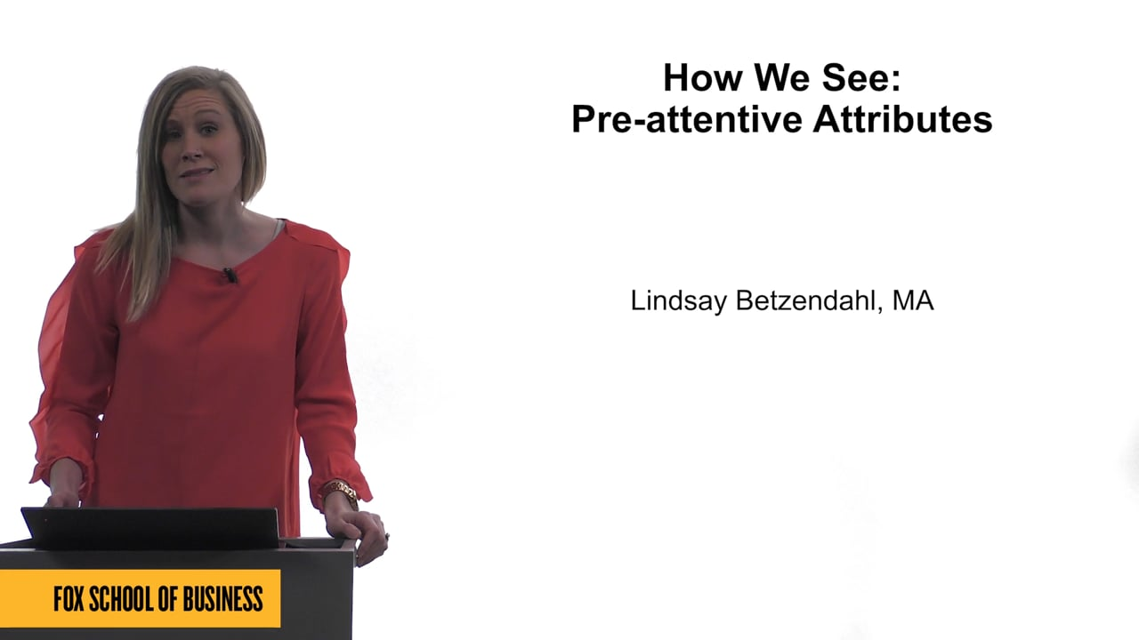 61739How We See: Pre-attentive Attributes