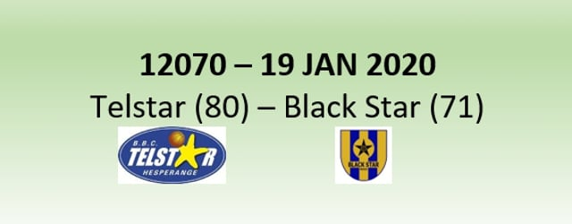 N2H 12070 Telstar Hesperange (80) - Black Star Mersch (71) 19/01/2020