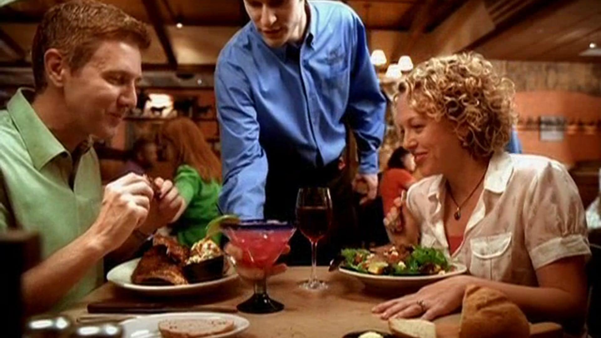 "LongHorn Steakhouse ""Real Man"""