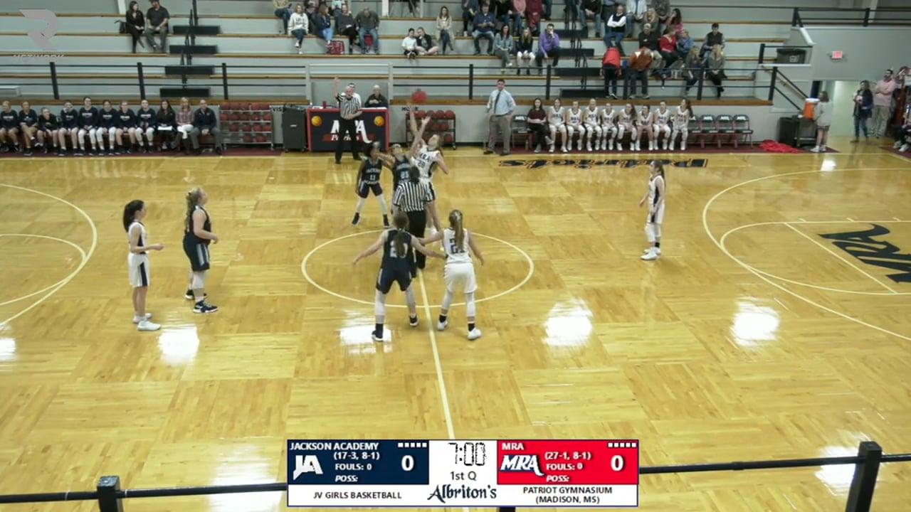 JV Girls Basketball-2020-Feb-7-MRA