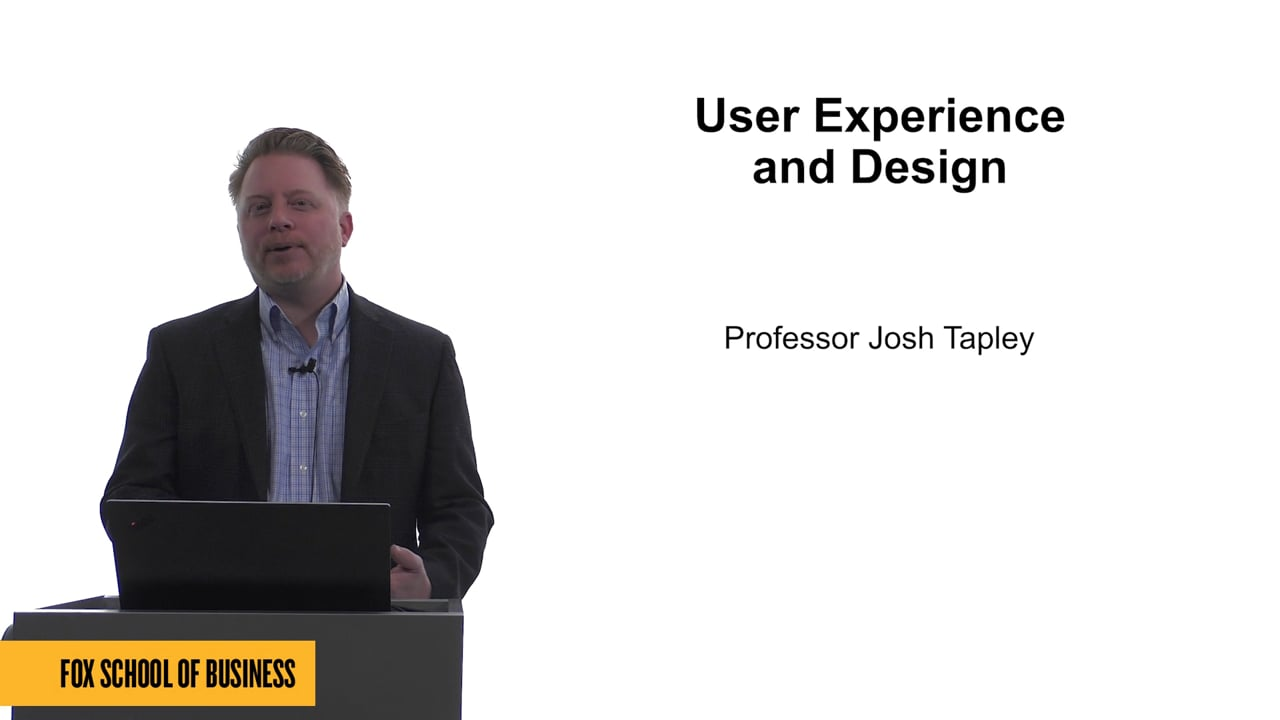61758User Experience and Design