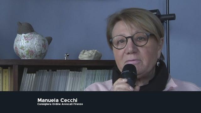 11/02/2020 L'inaugurazione dell'anno giudiziario 2020. Il punto con la consigliera Manuela Cecchi