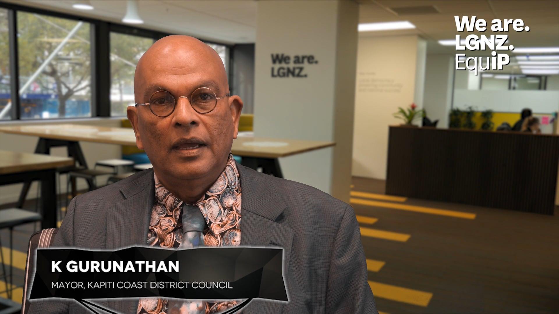 Leadership and Governanance Programme - K Gurunathan