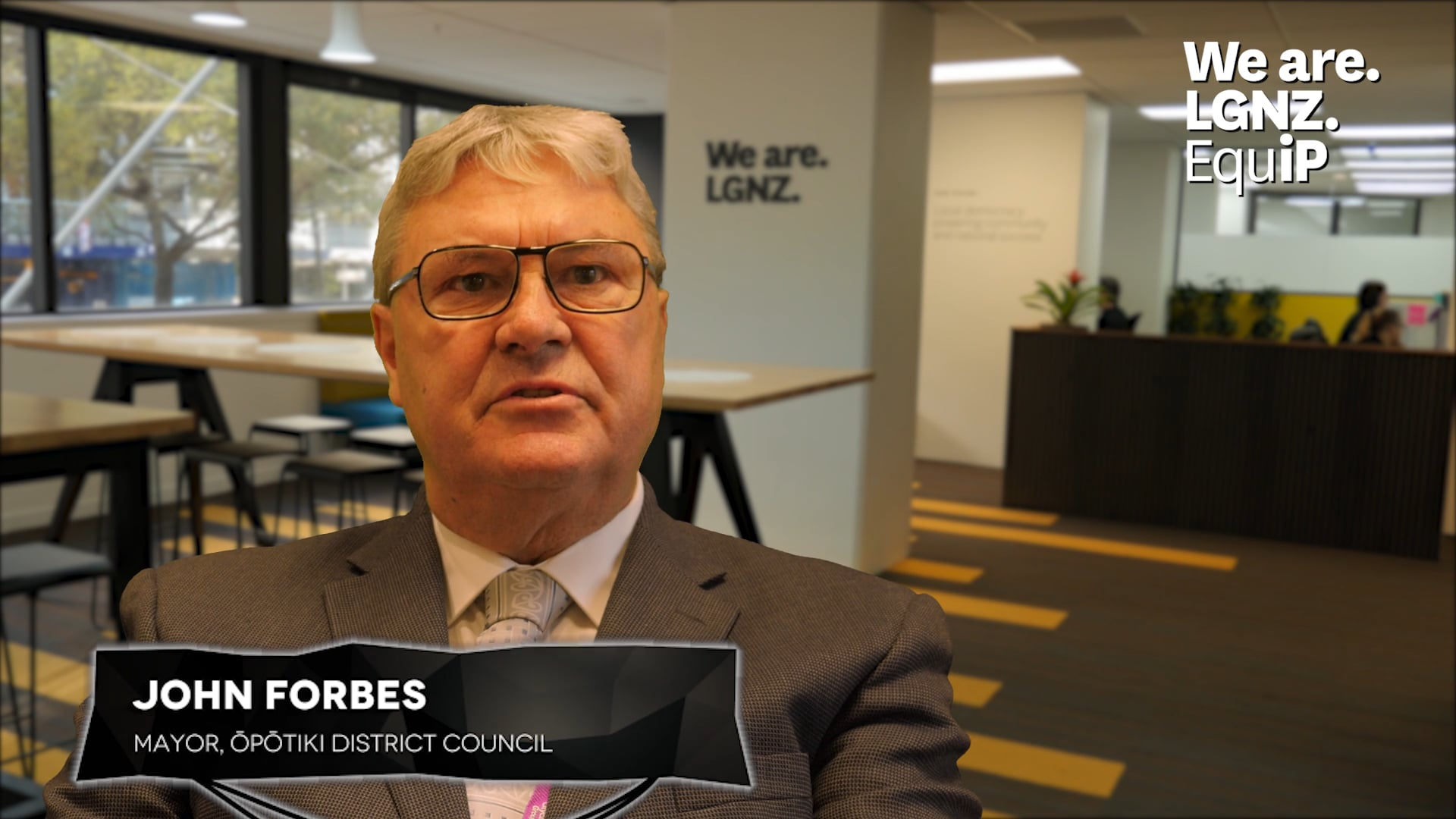 What are the benefits of professional development for elected members - John Forbes