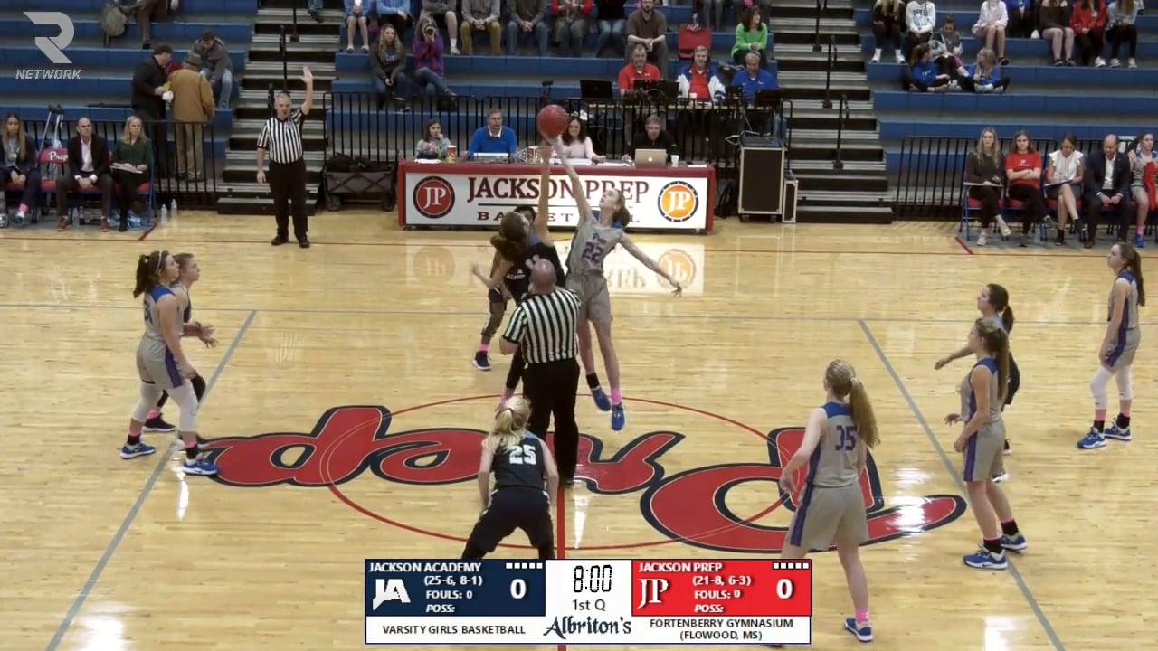 Varsity Girls Basketball-2020-Feb-11-Jackson Prep