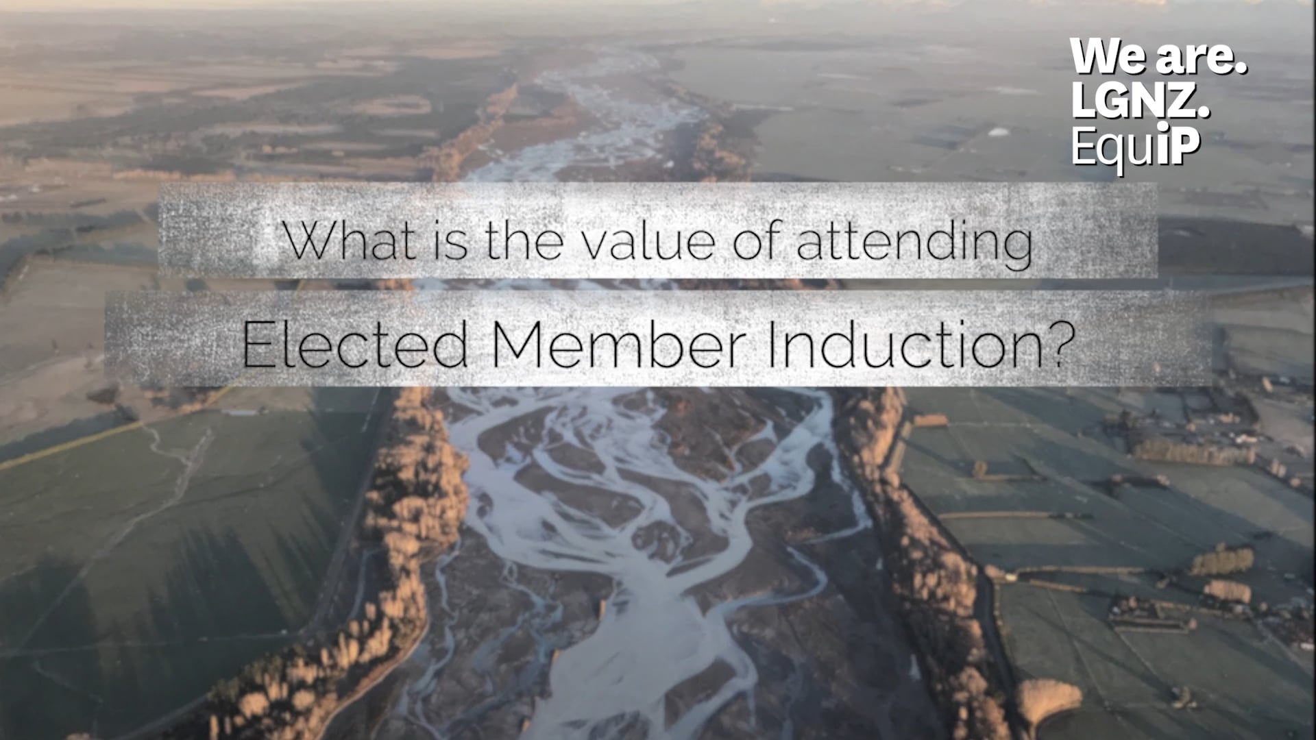 Value of Elected Member Induction - David Ayers
