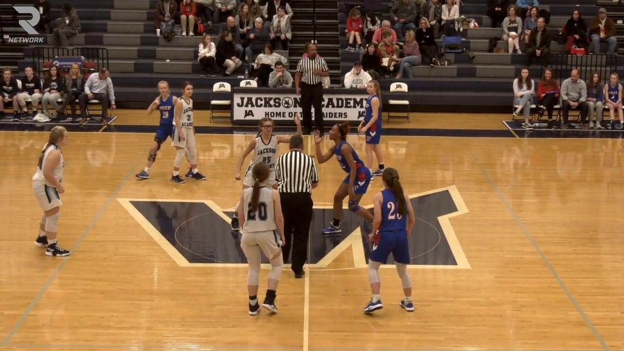 JV Girls Basketball vs Jackson Prep - 02-13-20