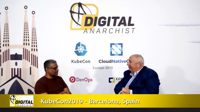 Jiten Vaidya, PlanetScale | KubeCon + CloudNativeCon Barcelona 2019