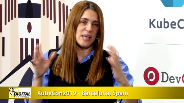Idit Levine, Solo.io | KubeCon + CloudNativeCon Barcelona 2019