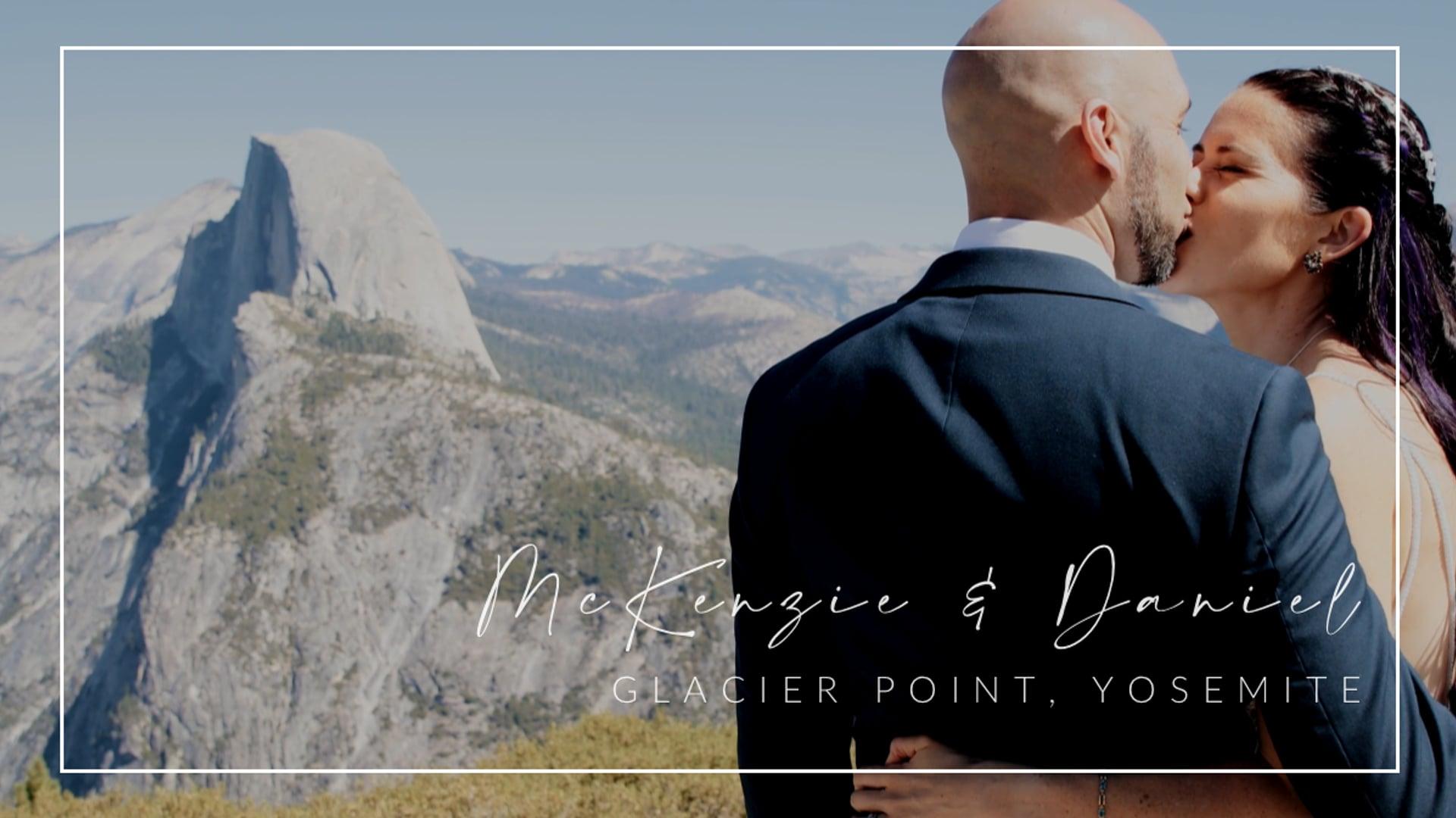 McKenzie & Daniel // Glacier Point Wedding