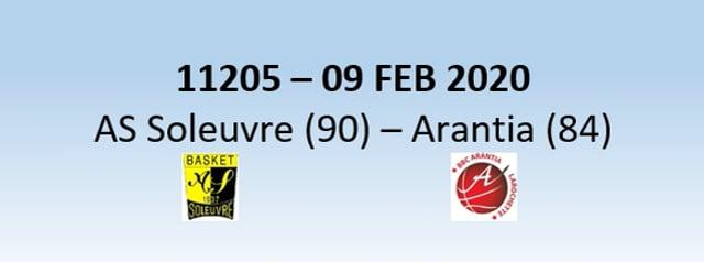 N1H 11205 AS Soleuvre (90) - Arantia Larochette (84) 09/02/2020