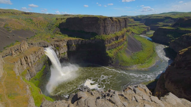 Amazing Waterfalls. Part 1 - Nature Relax Video