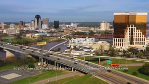 1562 Red River Shreveport downtown horseshoe casino video footage