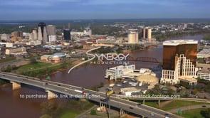 1567 Shreveport Bossier City Red River aerial