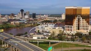 1568 Nice Shreveport Bossier City aerial view
