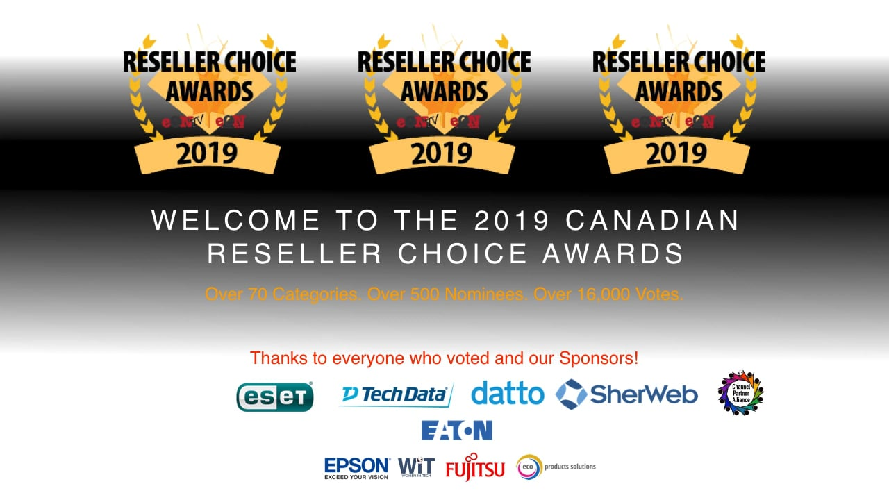Reseller Choice Awards 2019 Gallery