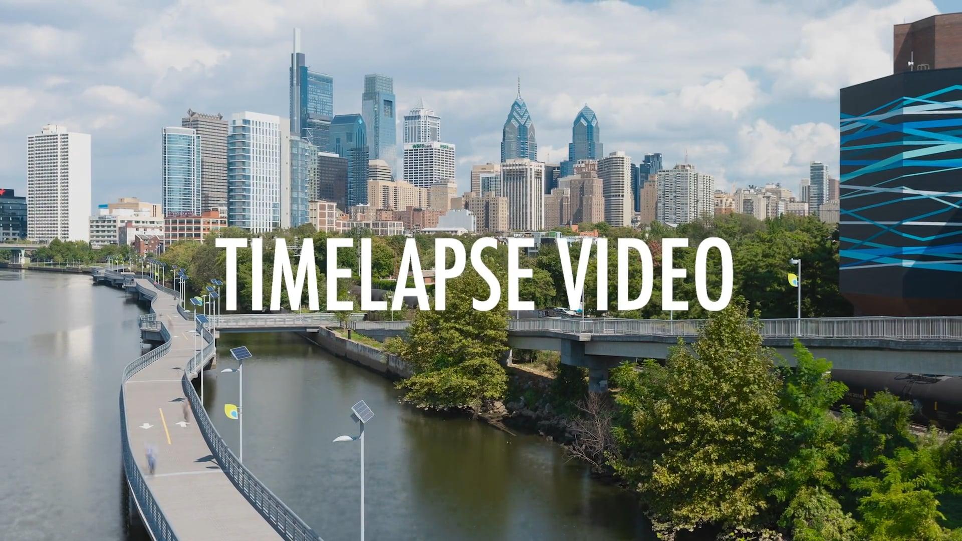 TIMELAPSE VIDEO STOCK MEDIA - PHILADELPHIA, PA