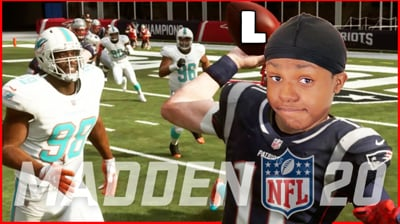 More Games Of Madden 20, Trent Is Handing Out L's - Stream Replay