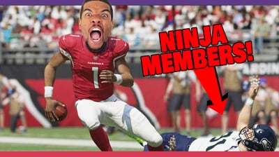Juice Finally Takes On Ninja Members In Madden - Stream Replay