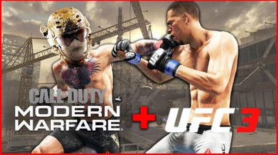 Knocking Ninjas Out In UFC + Call Of Duty Gameplay - Stream Replay