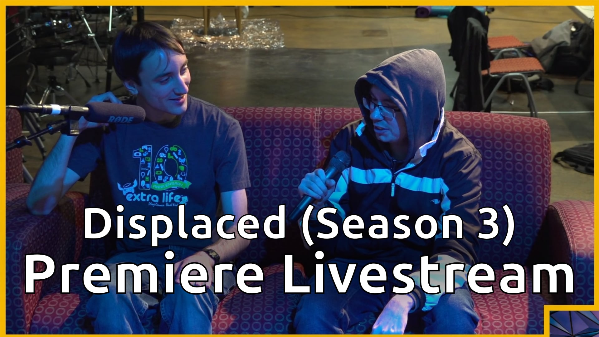 Displaced (Season 3) Premiere Livestream