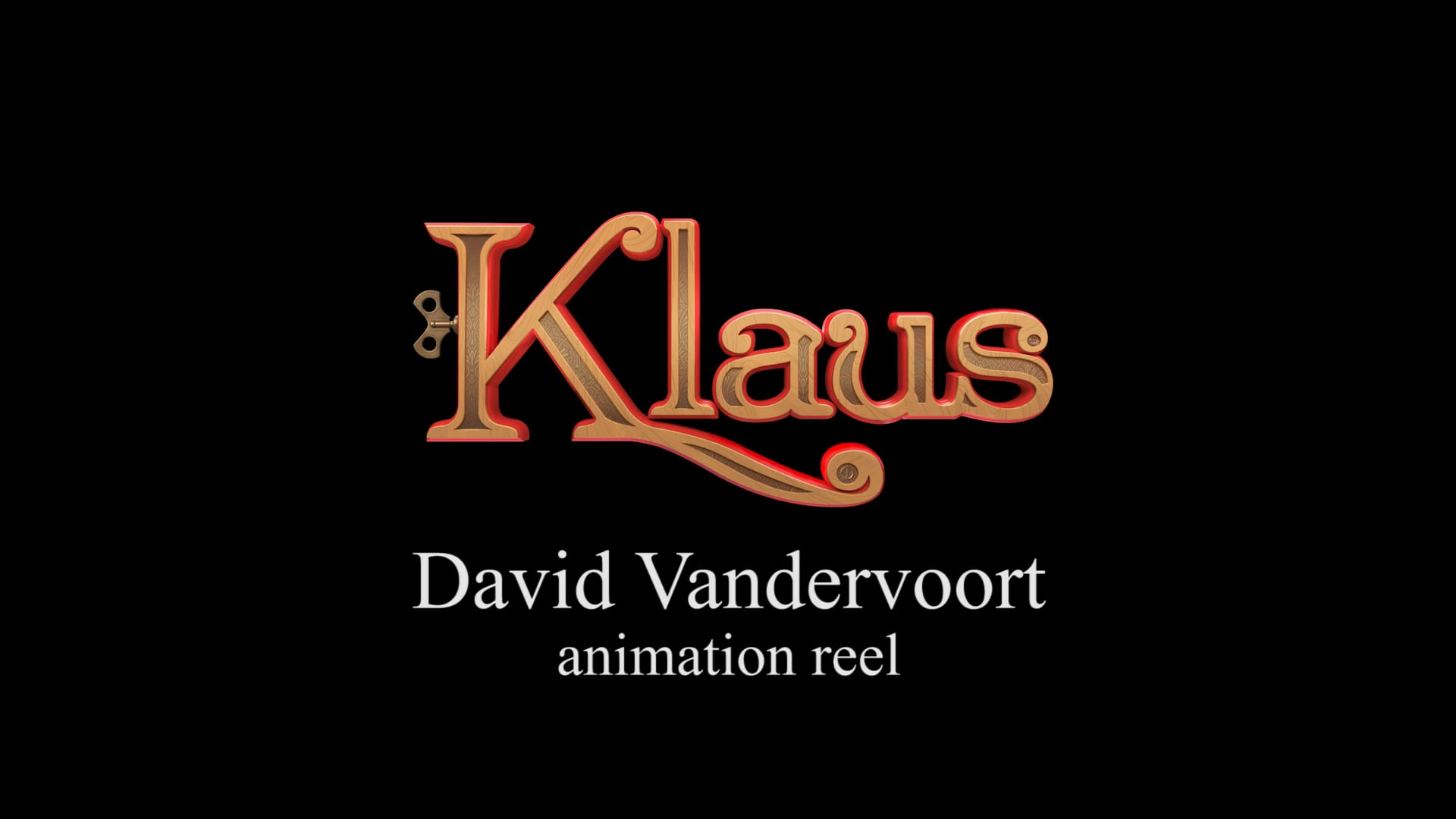 'Klaus' animation reel