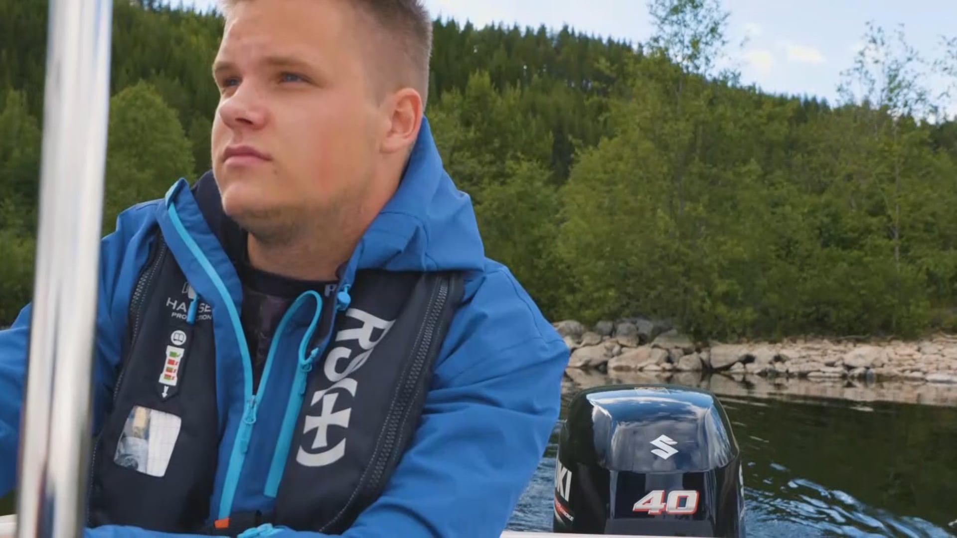 Fishing in Storsjøen