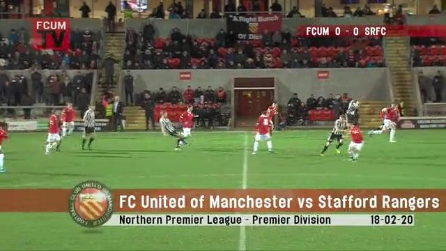FCUM vs Stafford Rangers - Highlights - 18-02-20