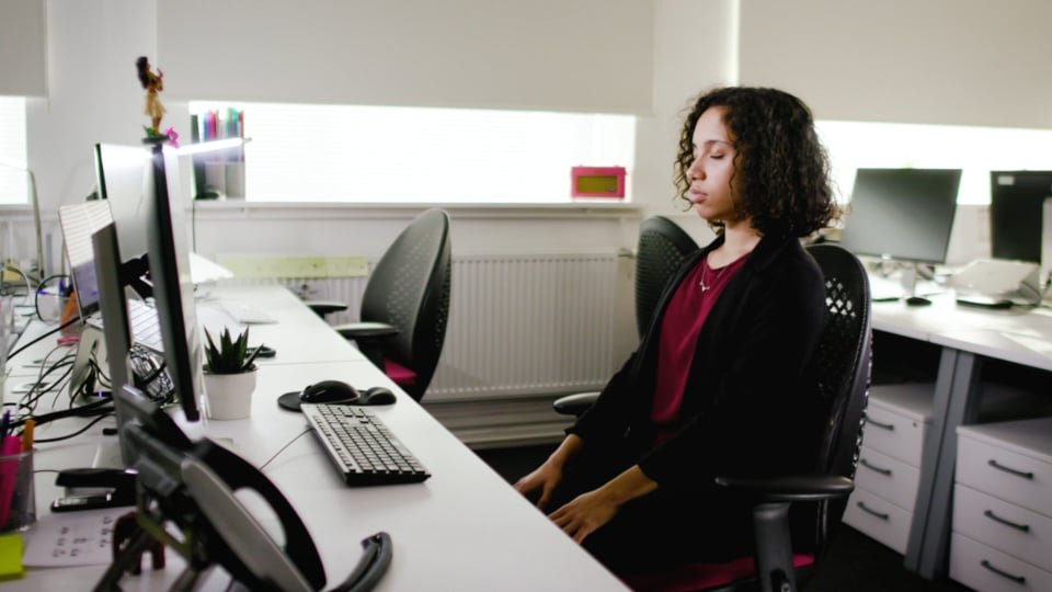 British Safety Council - Wellbeing in the Workplace (Breathing) Video