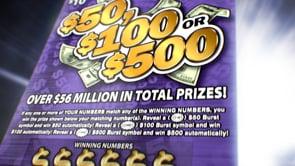 Ohio Lottery - 50/100/500 Scratch Off