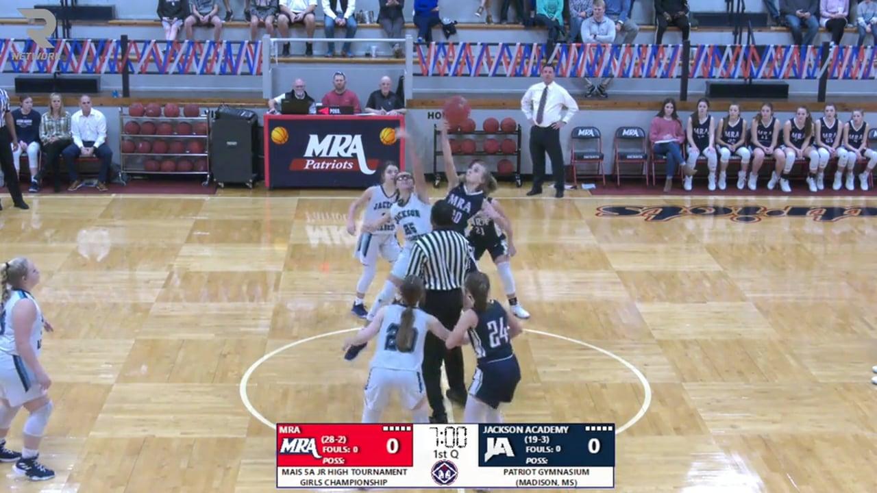 JV Girls Basketball vs MRA - 02-15-20