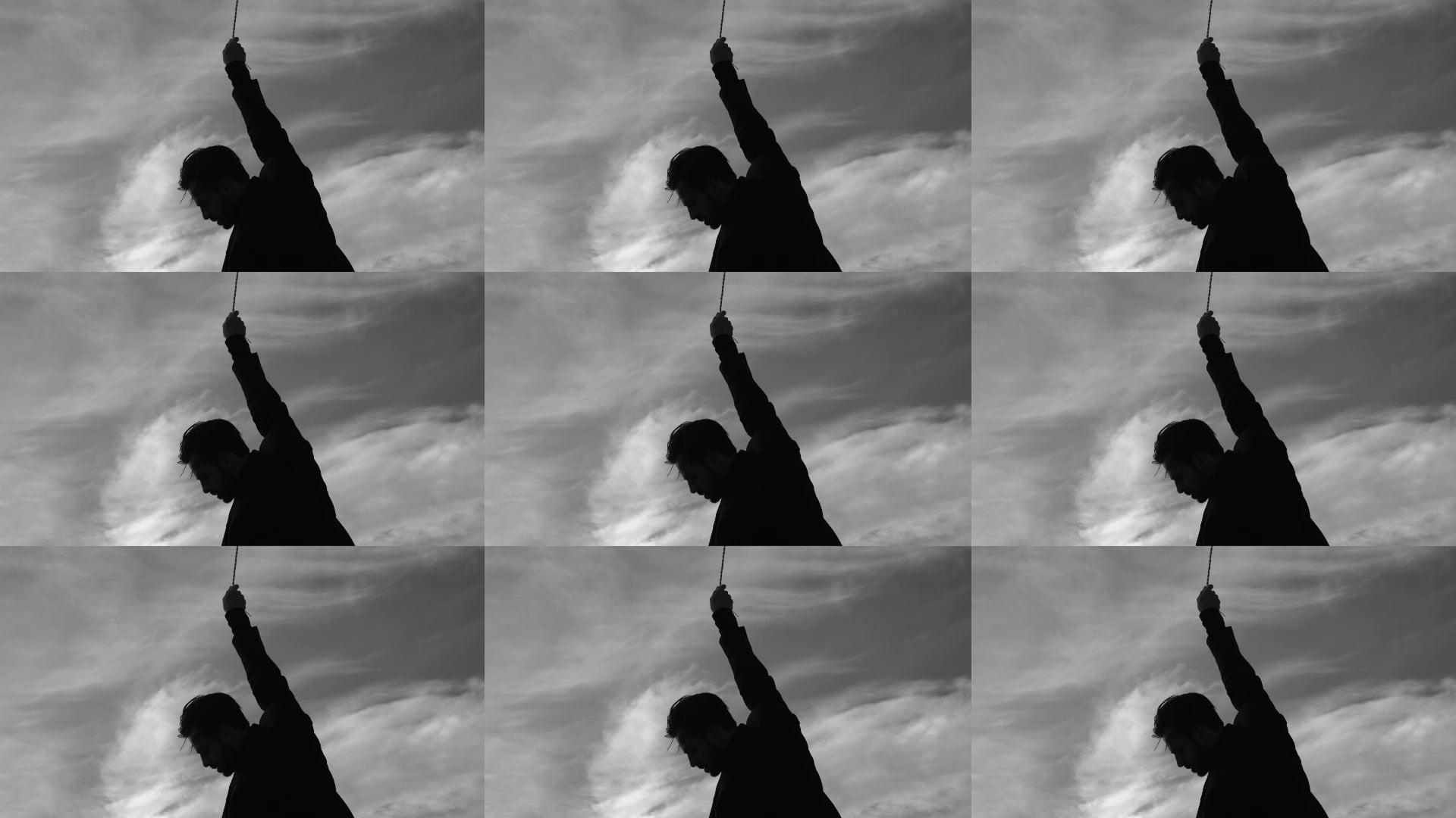 Falling silhouetten clips voor web 4 double