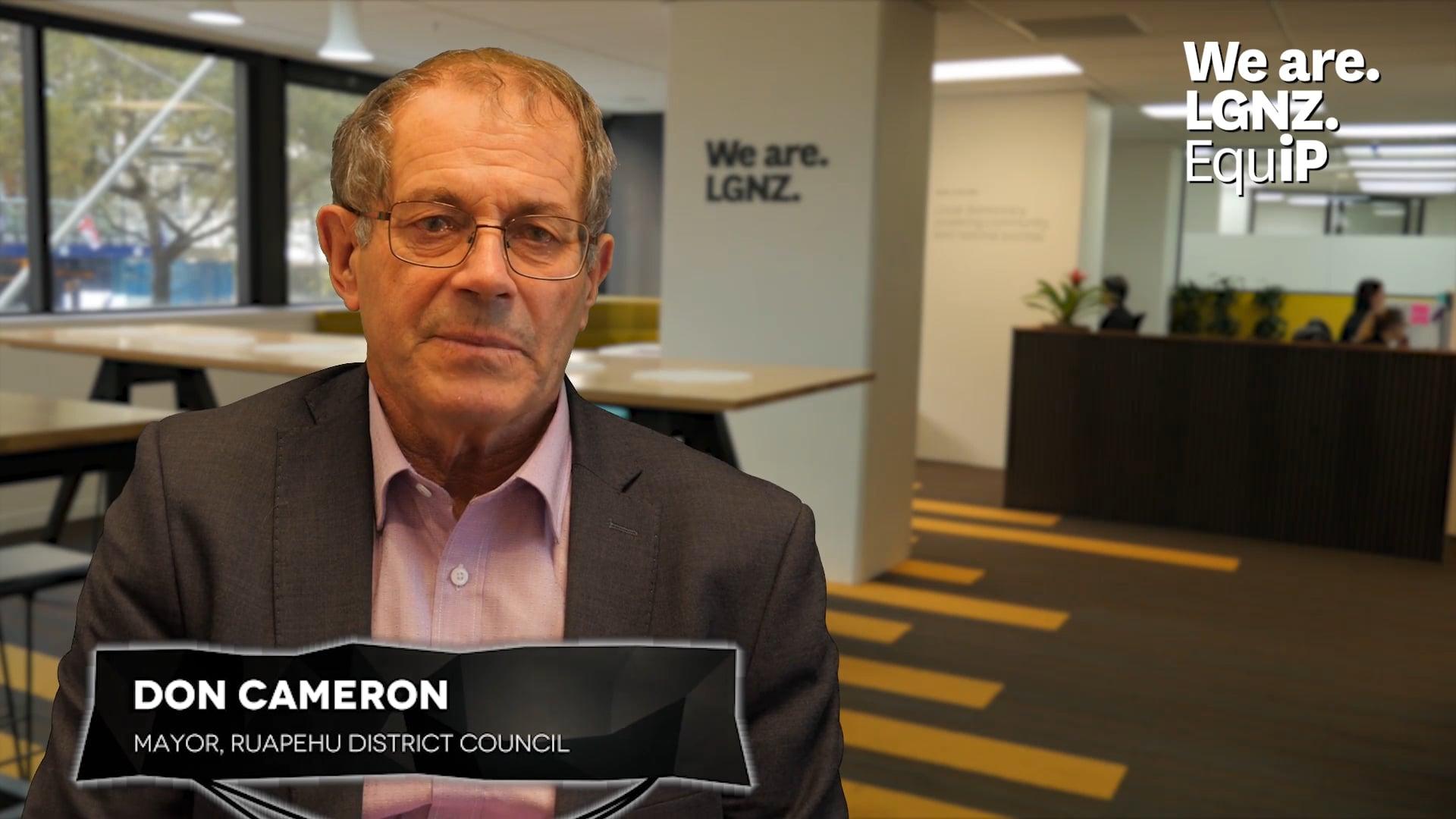 Benefits of Professional Development - Don Cameron